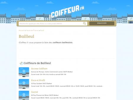 Coiffeurs Bailleul - Salons de coiffure 59270