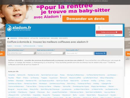 COIFFURE À DOMICILE YVELINES - ALADOM,...