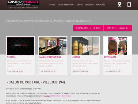 Salon de coiffure, coiffeur femmes - Villejuif |...