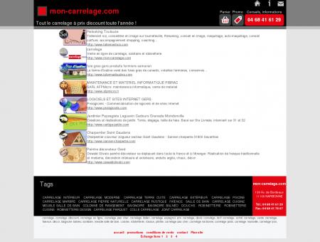 Carrelage en ligne discount : mon-carrelage.com