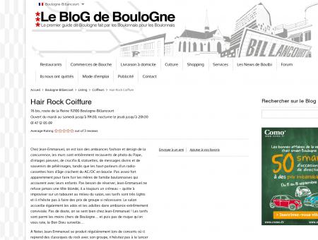 Hair Rock Coiffure - Le Blog de Boulogne...