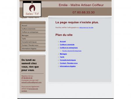 Selec'Tif - coiffure à domicile Bordeaux 33, Le...