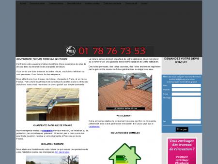 Couvreur toiture Paris Ravalement Charpente...