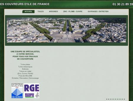 Les Couvreurs d'ile de France, Tous travaux de...