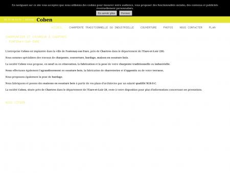 Coben - Charpentier et couvreur à Chartres,...