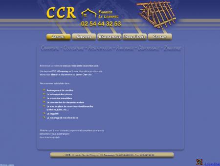 CCR Charpente/Couverture - rénovation Blois...