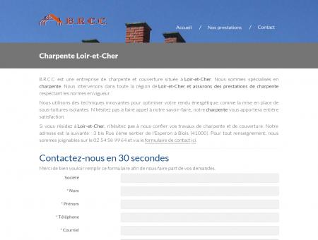 Charpente Loir-et-Cher | B.R.C.C