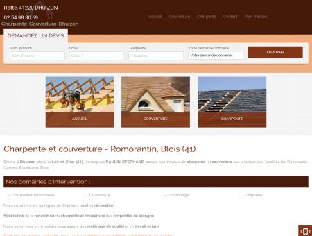 Charpente et couverture - Romorantin, Blois (41)
