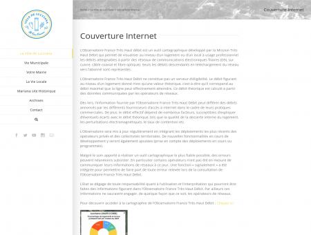 Couverture Internet | Ville de Lucciana : Site...