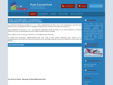 Accueil - Puel Couverture à Saint-Paul Oise (60)