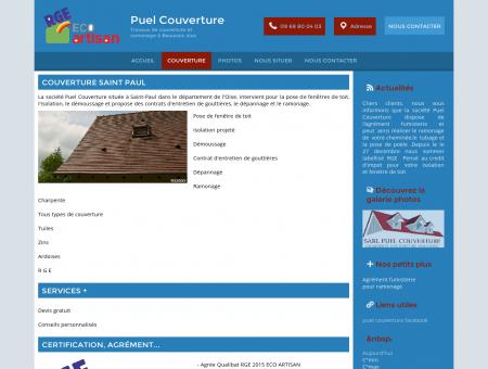 Couverture - Puel Couverture à Saint-Paul (60)