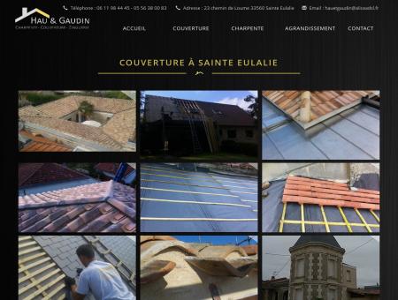 Couverture à Sainte Eulalie | Hau et Gaudin
