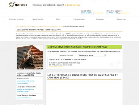 Travaux de couverture Saint Sulpice et...
