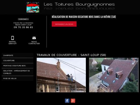 Travaux de couverture - Saint-Loup (58) -...