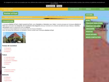 Couverture (entreprises) Saint Laurent du...