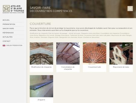 Couverture | Atelier Saint Blaise et Saint Thomas