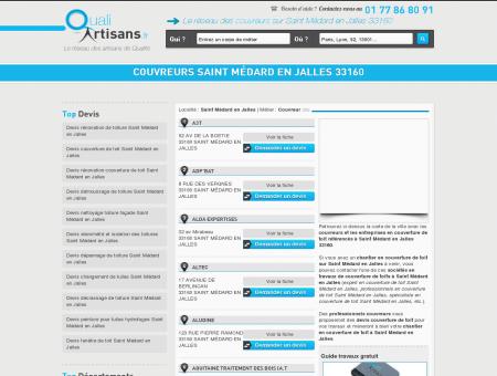 Couvreur Saint Médard en Jalles 33160