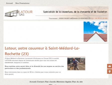 Latour, votre couvreur à Saint-Médard-La...