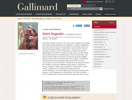 Saint Augustin - Religions - Découvertes...