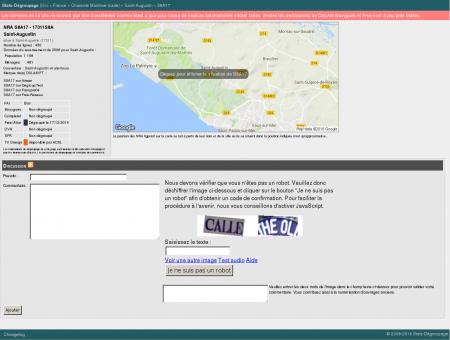 Stats-dégroupage : Informations sur S8A17 -...