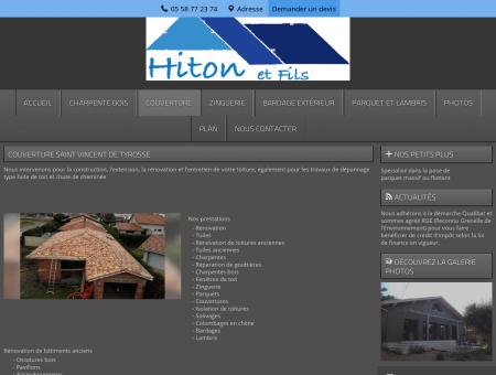 Couverture - Hiton et Fils à St Vincent-de...