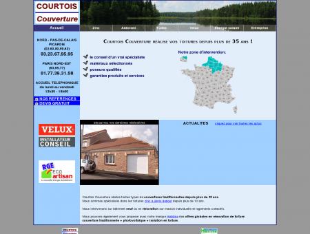 COURTOIS Couverture: Zingueur depuis 1978