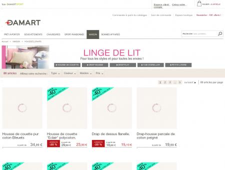 Soldes Couvertures | damart.fr