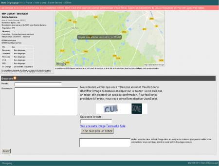 Stats-dégroupage : Informations sur GEM36 -...