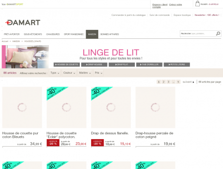 Couvertures Damart | damart.fr