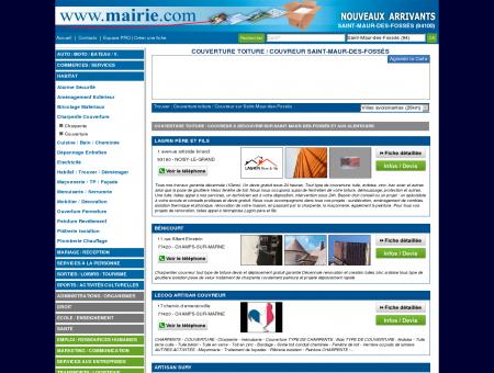 Couverture toiture / Couvreur Saint-Maur-des...