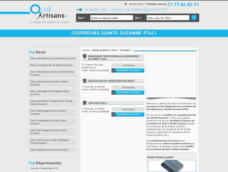 Couvreur Sainte Suzanne 97441