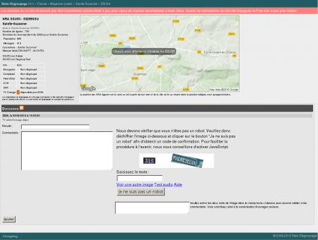 Stats-dégroupage : Informations sur SSU53 -...