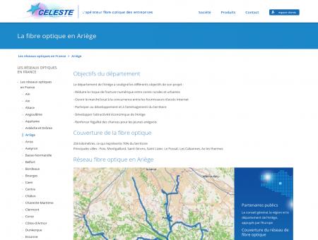 Réseau fibre optique en Ariège - CELESTE ...