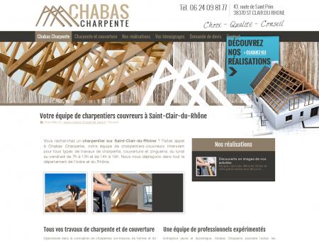 Charpentier Saint-Clair-du-Rhône 38 :...