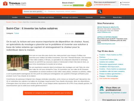 Saint-Clar : il invente les tuiles solaires -...