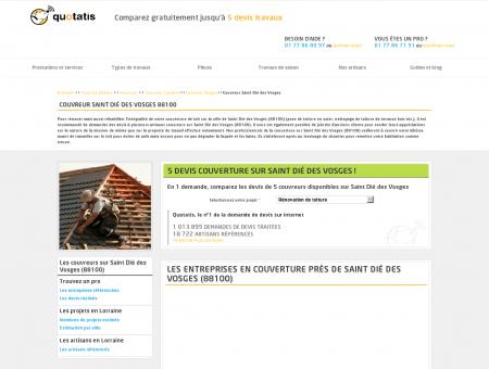 Couvreur Saint Dié des Vosges - 5 devis...