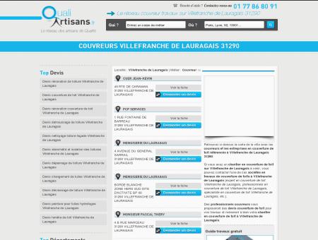 couvreurs Villefranche de Lauragais 31290