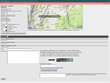 Stats-dégroupage : Informations sur SFX74 -...