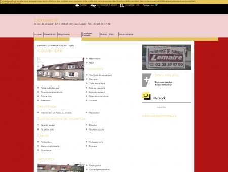 Couverture - Lemaire à Vitry-aux-Loges dans...