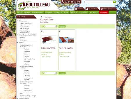 Couvertures - Scierie Boutolleau, bois et...