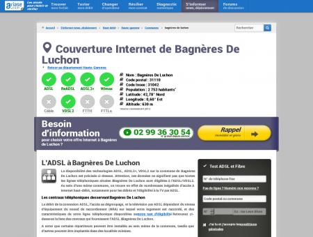 Couverture Internet de Bagnères De Luchon