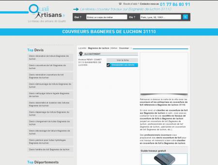 couvreurs Bagneres de luchon 31110 - Couvreur