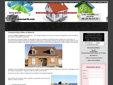 Couverture toiture Villiers sur Marne 94 -...