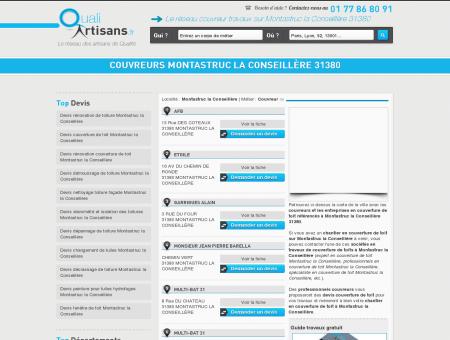couvreurs Montastruc la Conseillère 31380 -...
