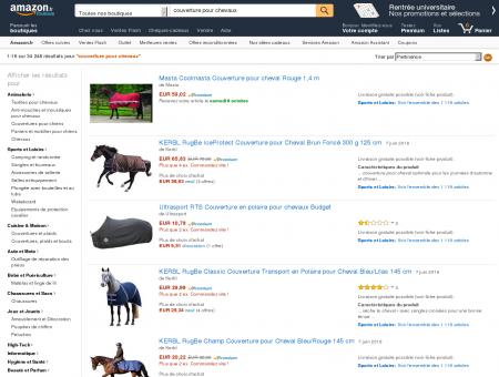 Couverture Pour Chevaux - Commandez sur Amazon !