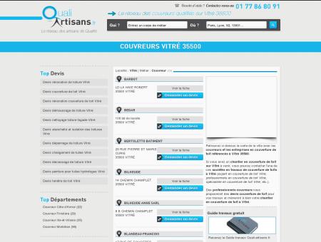 Couvreur Vitré 35500