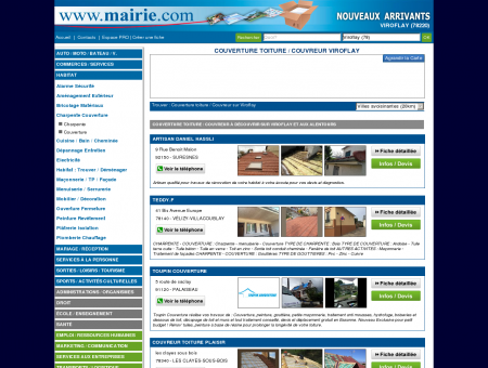 Couverture toiture / Couvreur Viroflay :...