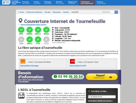 Couverture Internet de Tournefeuille -...