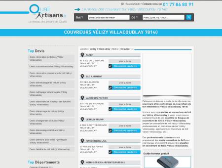 Couvreur Vélizy Villacoublay 78140