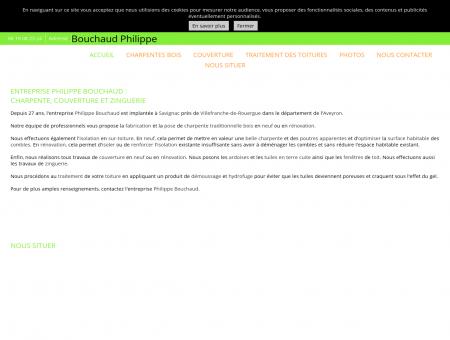 Philippe Bouchaud - Couverture et charpente à...